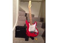 Rockburn Electric Guitar Pack