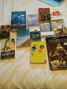 LOT OF BOOKS - GREAT READS! LOT DE LIVRES EXCELLENTS