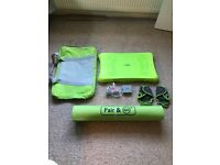 Wii Fit Board & Yoga Mat Bundle