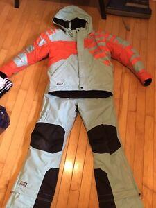 Girls ski-doo snowsuit