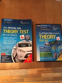 The official DSA theory test and the official DVSA complete theory test kit