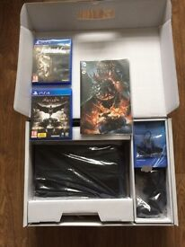 PS4, Limited Edition, like new, includes two games