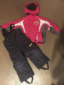 Excellent used condition girls Skidoo snowsuit