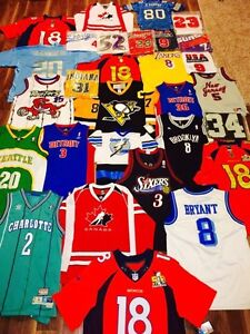 Jersey Collection for sale (new/stitched) Sarnia Sarnia Area image 1