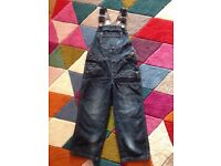 Boys mothercare dungarees age 2-3 years