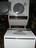 MINI LAVEUSE SECHEUSE SUPERPOSE MAYTAG HEAVY DUTY