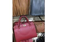 Genuine leather hand bags , bankrupt stock , wholesale clearance