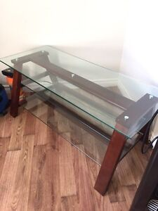Very Nice Glass Entertainment Stand