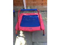 Galt folding trampoline, great condition