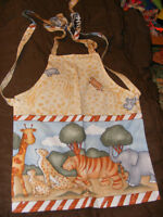 NEW - VARIETY OF TODDLER APRONS - SIZE 2-4 - $4 EACH