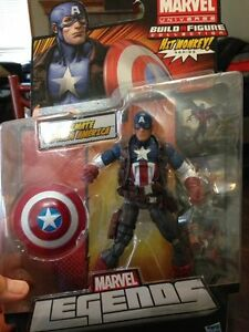 "6"" Ultimate Captain America Marvel Legends Hit Monkey Series"