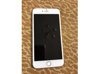 Iphone 6 plus 128gb gold, unlocked with box, replaced by apple 2 months ago