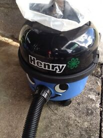 Year old henry vacuum cleaner
