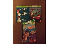 Leapfrog leap tag with 3 books