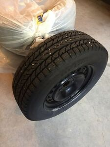 Winter Tires on Rims 235/65 R17