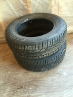 195/65R15 TIRES 100.00 for the pair