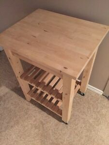 IKEA kitchen cart. Great condition!! London Ontario image 2