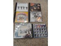 beatles cd's x 6