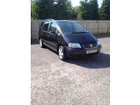 2005 vw sharan 1.9tdi *near full mot&taxed*new clutch kit fitted*alhambra/galaxy/zafira/7 seater