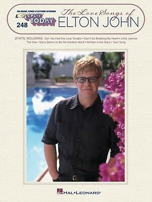The Love Songs of Elton John Sheet Music E-Z Play Today Book NEW 000100296