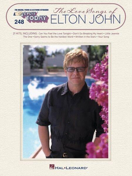 The Love Songs of Elton John Sheet Music E-Z Play Today Book NEW 000100296
