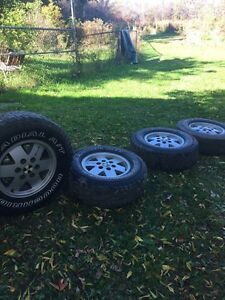 Stock gm /chev 6 bolt rims and tires