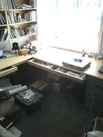 Office -Work Station    Real Wood,     No press board