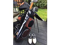 Full Golf Set Clubs Shoes Umberella Balls etc.