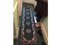 Corridor runner rug