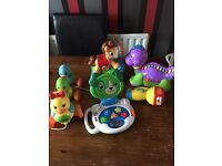 Bundle of baby toys in excellent condition