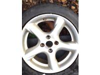 "Mazda MX5 California 15"" Alloy wheels x 4"