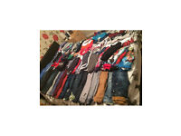 Huge box of boys clothes 3-4