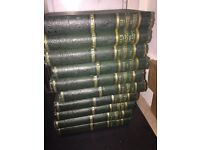 Antique books by Thackeray - 10 volumes