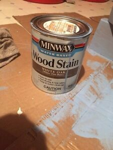 Brand new quart can of stain Less than a half inch used)