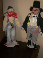 COLLECTION OF 48 CLOWNS