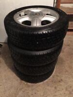 4 winter tires with Acura rims - Hankook 195/60R15
