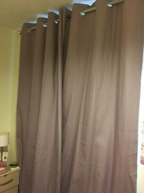 Next fully lined curtains
