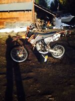 KTM 105sx great bike low hours!!