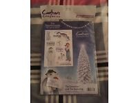 A5 Unmounted Rubber Stamps - The Snowman and the Snowdog / Father Christmas