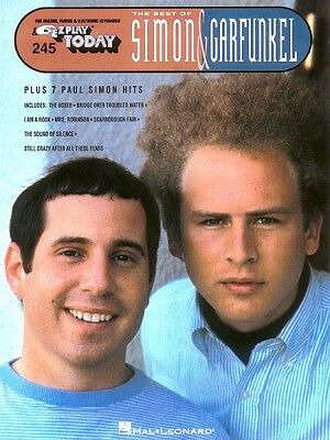 Best Of Simon   Garfunkel Sheet Music E Z Play Today Book New 000100041