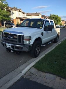2008 Ford F-250 with boss v plow for sale