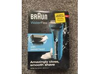 Sealed Braun shaver