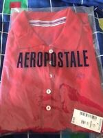 New with tags: Aeropostale a87 red polo