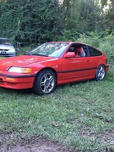 1991 Honda crx and 2 Acura integra gsr's