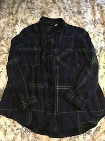 Urban Outfitters tartan checked shirt - size L