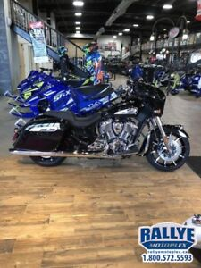 2019 Indian Motorcycle Chieftain Limited Thunder Black Pearl