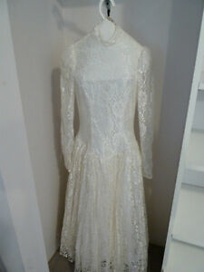 Wedding Dress 3/4 length