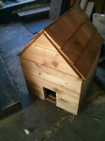 Custom-built house for small dog or cat