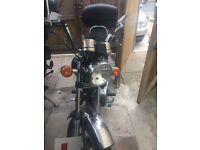 Huoniao 125 motorbike