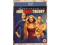Big Bang Theory Season 1-7 blu ray boxset